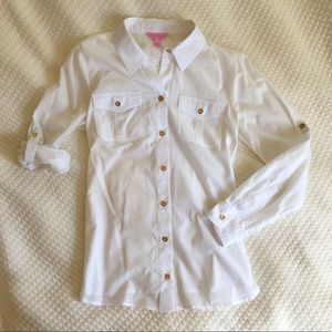Lilly Pulitzer Resort Shirt - Never Worn!
